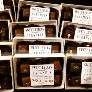 Sweet Lydie's Caramels from Lowell, Mass.